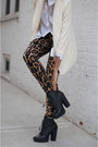 Black-boots-ivory-blazer-leopard-print-tights-white-top-blouse