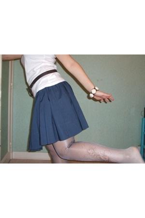 H&M t-shirt - H&M skirt - H&M bracelet
