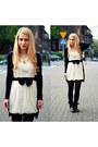 White-topshop-dress