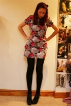 Topshop dress - new look shoes