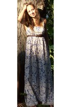 TJ Maxx dress - vintage belt