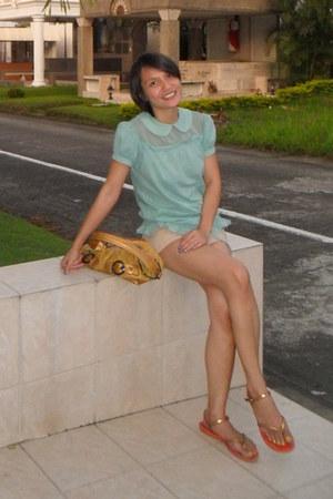 Bayo top - Kathy van Zeeland bag - Ipanema flats