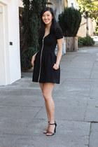classic Maje dress - leopard print Charlotte Russe heels