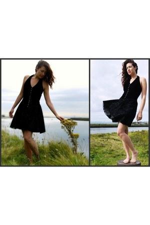 velvet vintage dress