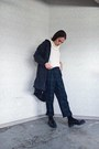 Topshop-jacket-zara-loafers-vintage-pants
