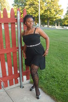 3 in 1 Avon dress - payless belt - sears tights - Kmart shoes - Avon accessories