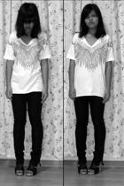 shirt - Topshop jeans - Possibility shoes