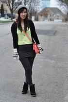 PROENZA SCHOULER bag - neon yellow Forever 21 t-shirt - Steve Madden sneakers