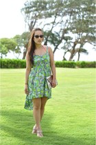 Band of Gypsies dress - asos bag - cat eye Urban Outfitters sunglasses