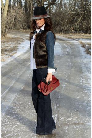 MNG jeans - Old Navy jacket - Worthington vest