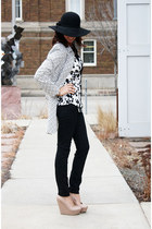 ANA blouse - Mossimo jeans - Forever 21 wedges