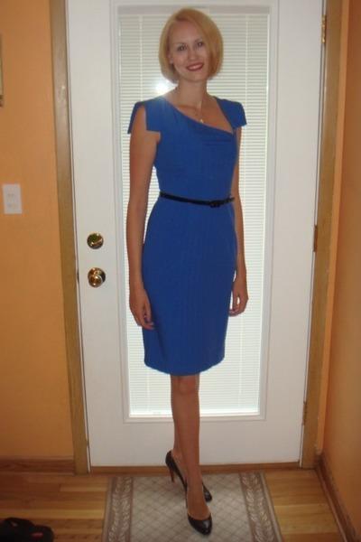 Blue Nordstrom Rack Dresses Black Christian Louboutin Shoes Silver