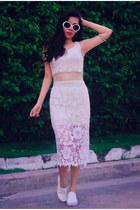 meshmidi vintage dress
