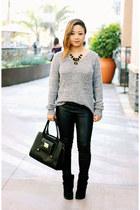faux leather 31 Phillip Lim x Target bag - suede BCBGeneration boots