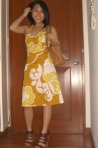 H&M dress - Nine West purse - matthews by CMG shoes