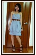 Greenhills dress - Freeway belt - CMG shoes