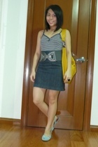 Gap top - from childhood skirt - Celine - forever 21 - from a bazaar belt
