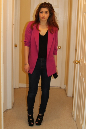 pink Urban Outfitters blazer