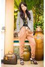 White-zara-blazer-beige-mango-pants-black-topshop-top-black-bought-online-