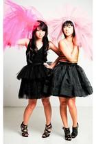 black Zoo Shop shoes - black Zoo Shop shoes - black Glitterati skirt