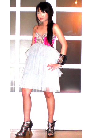 Glitterati dress - online shoes - Cuteture bracelet - Forever21 earrings