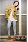 Beige-zara-blazer-forever-21-top-blue-mango-jeans-beige-topshop-shoes-bl
