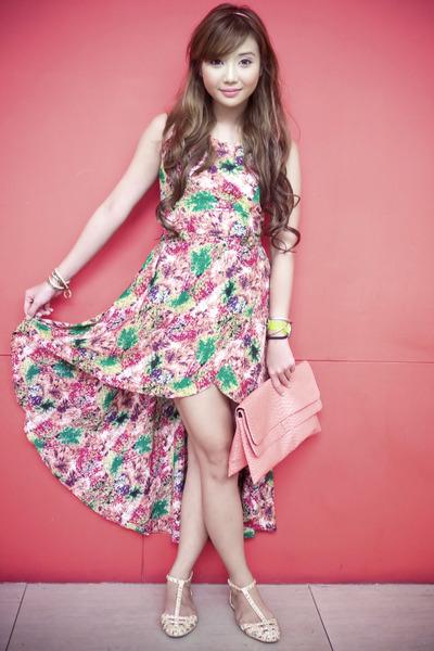 bubble gum mullet Wardrobe Check dress