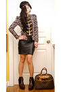 Brown-glitterati-blazer-black-glitterati-skirt-brown-soule-phenomenon-boots-