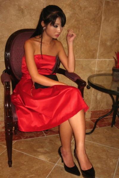 Zara dress - dior purse - Zara shoes