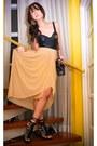 Black-glitterati-intimate-nude-glitterati-skirt-black-ysl-black-online-sho