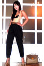 Beige-glitterati-intimate-black-moonshine-pants-brown-chanel-belt-beige-ni