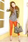 Burnt-orange-zara-jeans