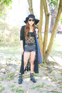 Black-topshop-bodysuit