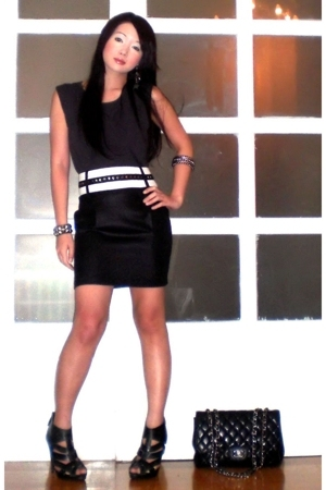 Topshop top - Glitterati skirt - Topshop shoes - Chanel purse - Rockwell Bazaar