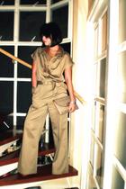 beige Jessica pants - beige Kors by Michael Kors shoes