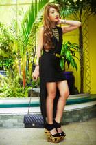 black mullet Glitterati dress