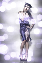 Debbie Co dress - Nine West shoes - Tiffany bracelet