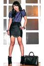 Blue-topshop-blouse-black-topshop-skirt-black-topshop-boots-silver-louis-v