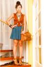 Satchel-topshop-bag-topshop-top-zara-heels-forever-21-skirt