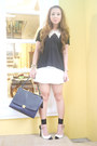 Black-zara-shirt-off-white-celine-bag-ivory-das-heels-white-zara-skirt