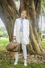 White-alexander-wang-shoes-dark-brown-givenchy-bag
