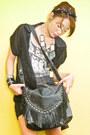 Black-fringed-random-purse-navy-studded-denim-glitterati-shorts-black-zara-w