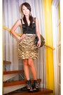 Beige-vania-romoff-skirt-black-glitterati-intimate-black-online-shoes-blac