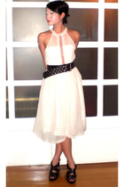 my design dress - my design dress - Zara belt - Zara shoes