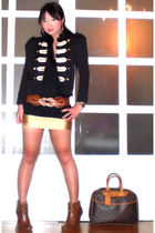 gold bondage mini glasnost skirt - brown studded boots online shoes