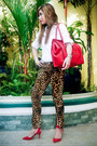Dark-brown-zara-pants-red-mango-blazer-red-celine-bag-red-zara-heels
