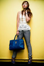 Blue-cabas-chyc-yves-saint-laurent-bag