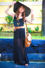 Apartment-8-dress-zara-hat-topshop-bag-zara-sandals