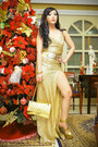 Gold-style-staple-dress-gold-chanel-bag-gold-das-heels