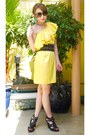 Yellow-h-m-dress-black-fendi-bag-turquoise-blue-chandelier-forever-21-earrin